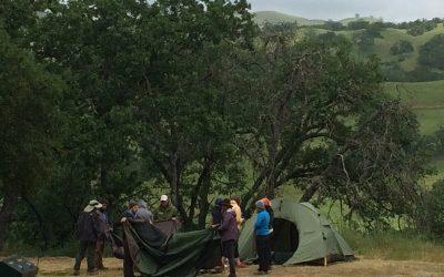 News: Camping at the Presidio Leadership Training