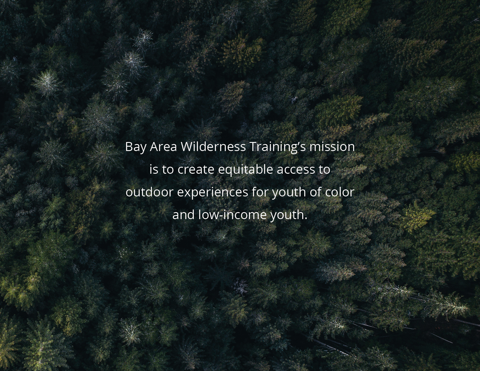 Strategic Plan | Bay Area Wilderness Training (BAWT)