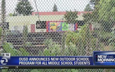 """""""Ousd Announces Outdoors Initiative For Middle School Students"""""""