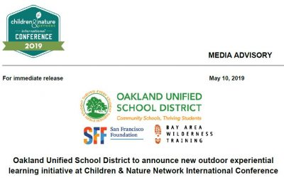 Oakland Goes Outdoors Press Release – May 2019